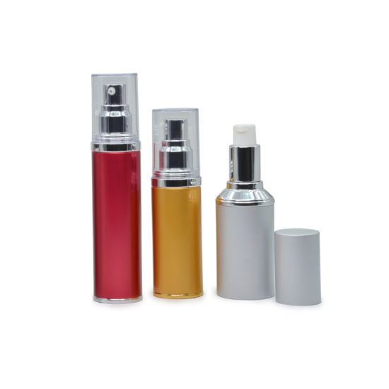 Airless Aluminium Bottle for Cosmetic Lotion Cream pictures & photos