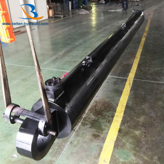 Heavy Duty Standard Hydraulic Cylinder for Construction Vehicle pictures & photos