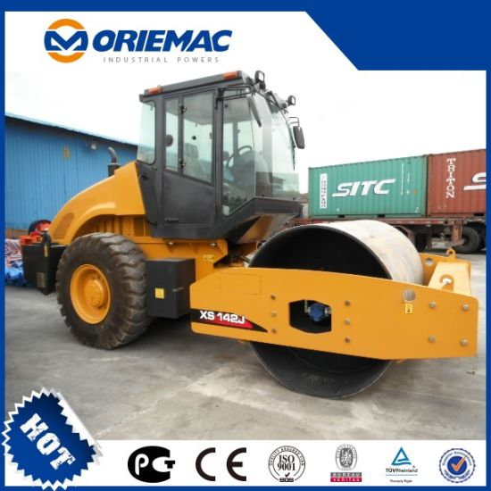 Top Brand New Mechanical 18tons XCMG Single Drum Road Roller Xs182j