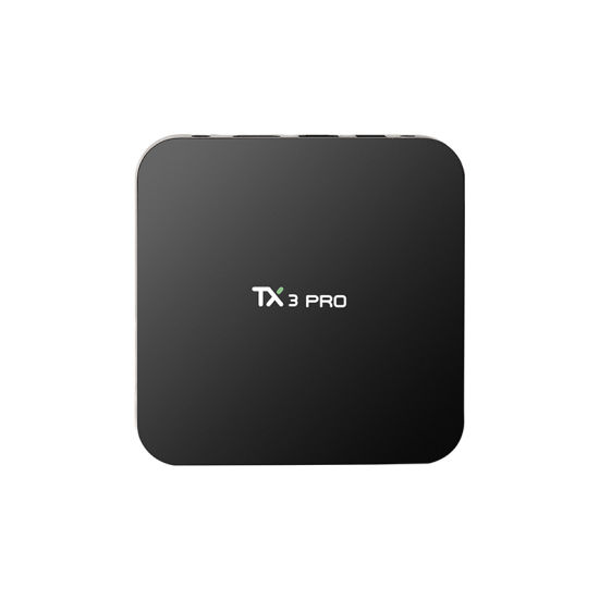 Smart Tx3 PRO Amlogic S905X Quad Core Streaming TV Box pictures & photos