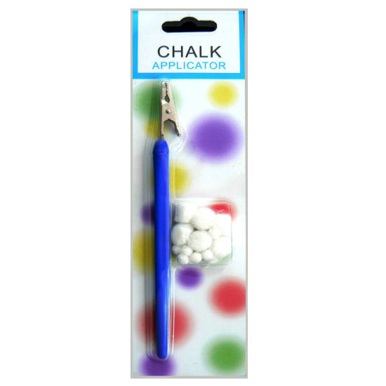 Blue Chalk Applicator with Cotton for Paper Craft (TCA-1) pictures & photos