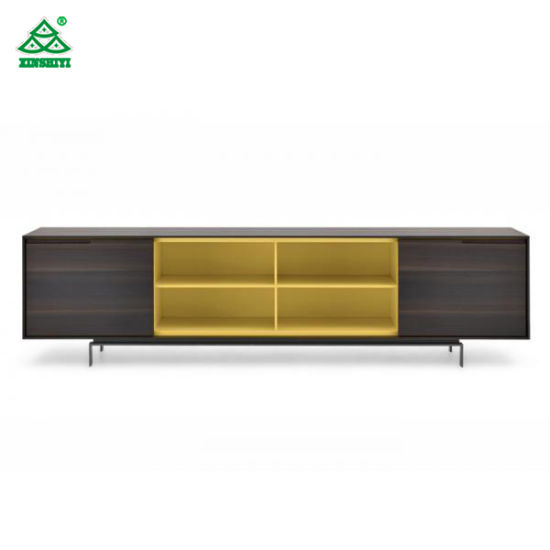 Long Modern Design Custom Cabinets Colorful Bedroom TV Stand With Drawers