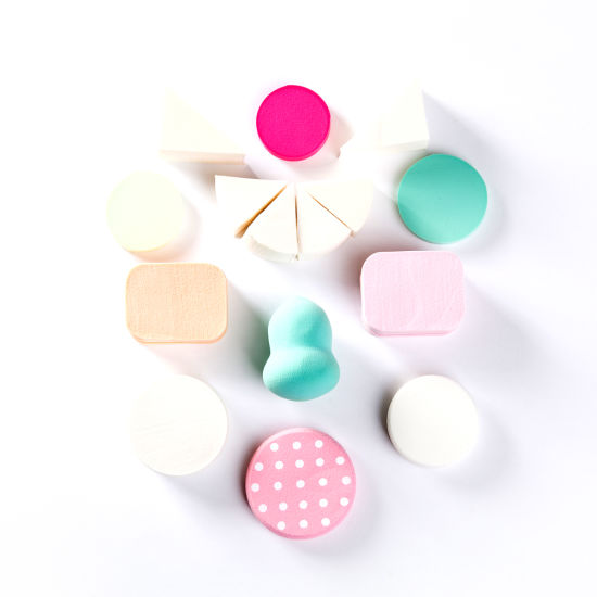 Beauty Latex-Free Different Shapes Customized Cosmetic Sponge pictures & photos