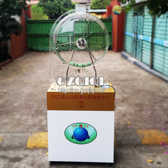 High Quality Jackpot Lottery Ball Machine of Lottery Game Machine pictures & photos