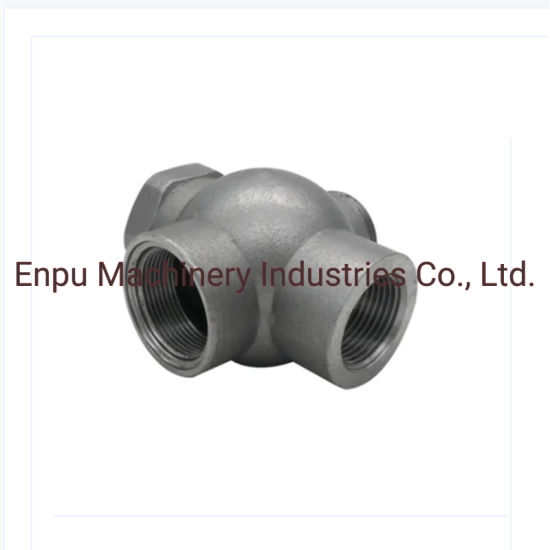 2020 High Quality OEM Iron Casting Parts Water Glass Casting Ball Valve Part of Enpu