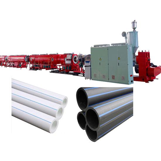Plastic HDPE PE Pipe Extruder Machinery