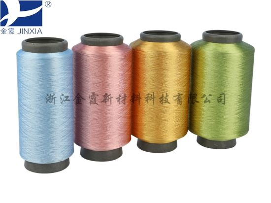 DTY Polyester Filament Yarn Dope Dyed 60d/24f pictures & photos