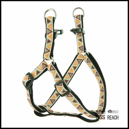 Pet Supply Products Durable Stitching Woven Nylon Webbing Dog Harness pictures & photos