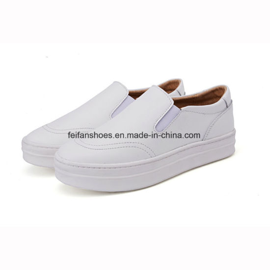 Latest Designs of Women Leather Shoes Loafer Shoes (FTS1019-13) pictures    photos 8e2930f9b