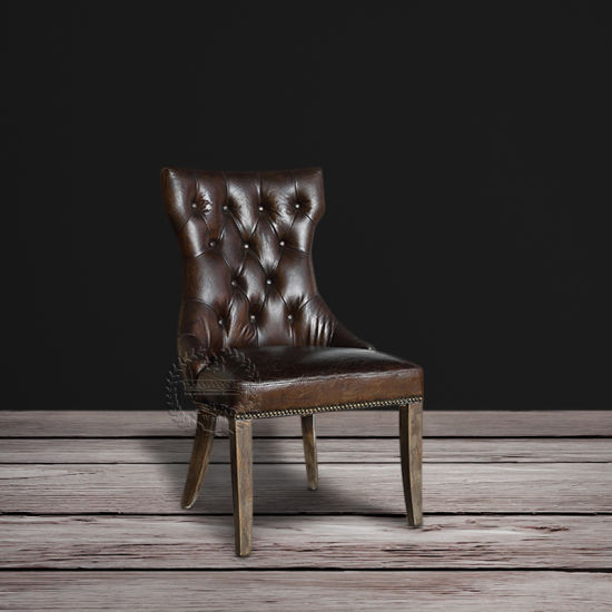 Awesome Retro Leather Dining Chair Dailytribune Chair Design For Home Dailytribuneorg