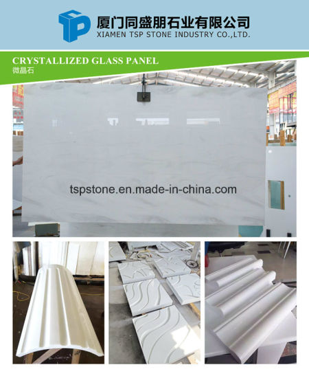 Nano Crystallized Glass Stone Slab for Veneer Wall Tile pictures & photos