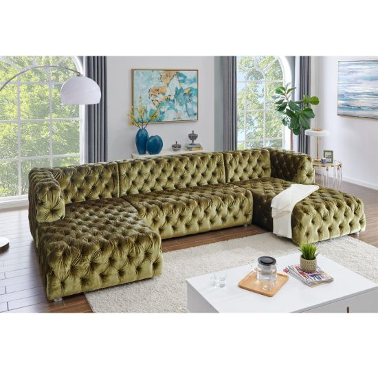 On Tufted U Shaped Sectional