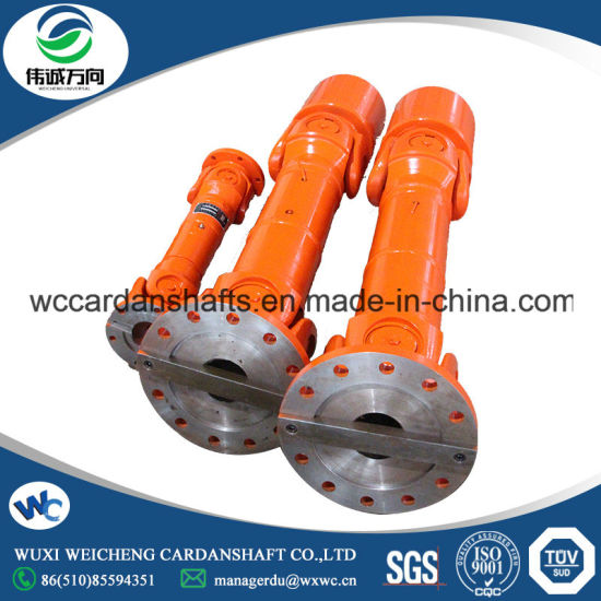 China Factory Price SWC Medium Duty Universal Shaft with U