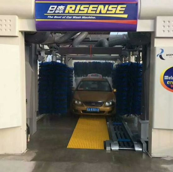 Fully Automatic Tunnel Car Wash Equipment and Tunnel Car Washing pictures & photos