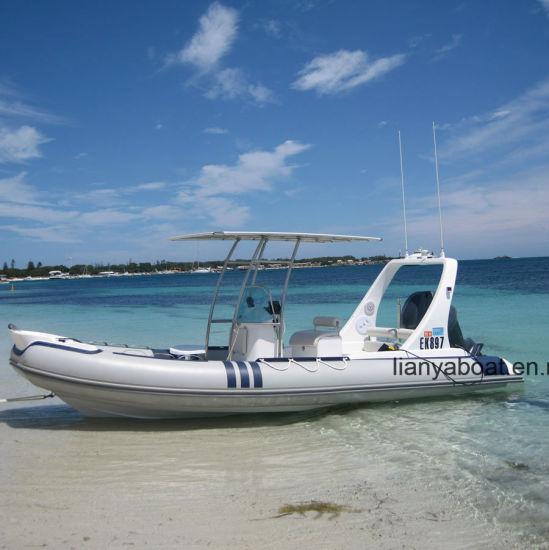 China Liya 6 2m Rib Inflatable Boat Hypalon Rib Boat Yacht