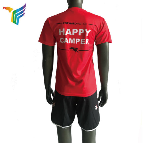 0edf30ade15 Factory Wholesale Full Printing Sublimation Sports T Shirts 100% Polyester  Dry Fit Moisture Wicking Sports T Shirts