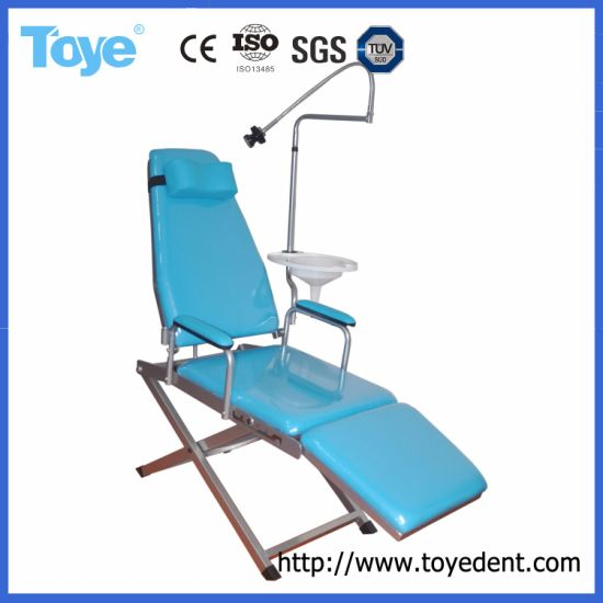 Comfortable Standard Size Folding Portable Dental Chair pictures & photos
