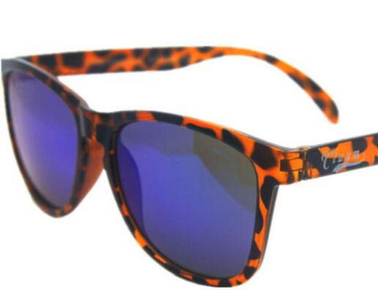 Plastic Reflective Vintage Sunglasses with Customized Logo