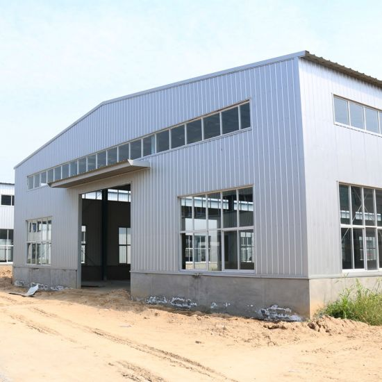 Prefabricated Building Construction Projects Steel Structure Mobile Workshop pictures & photos