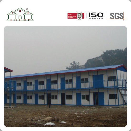 China Fast Installation Modern Prefabricated Steel Frame House ...