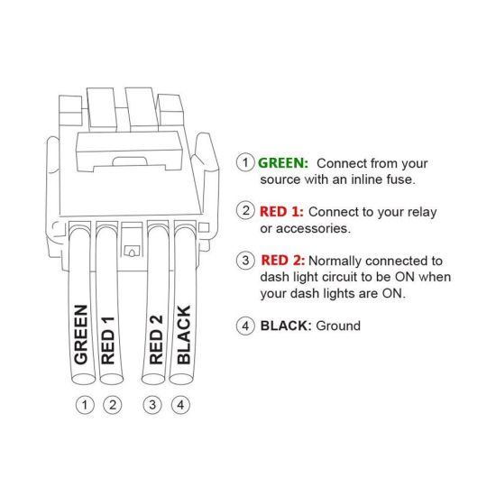 4 Pin Relay Wiring Diagram Light Bar from image.made-in-china.com