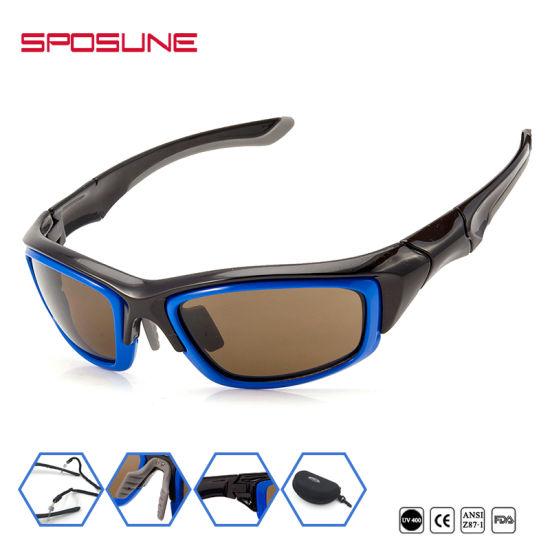 8b388927a19 Wholesale UV400 Anti-Scratch Sport Prescription Eyeglasses Polarized  Sunglasses pictures   photos