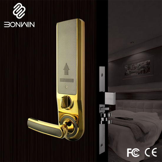 Electronic Smart Card Hotel Security Door Lock pictures & photos