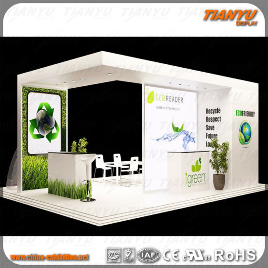 Aluminum Fabric Exhibition Stall Design