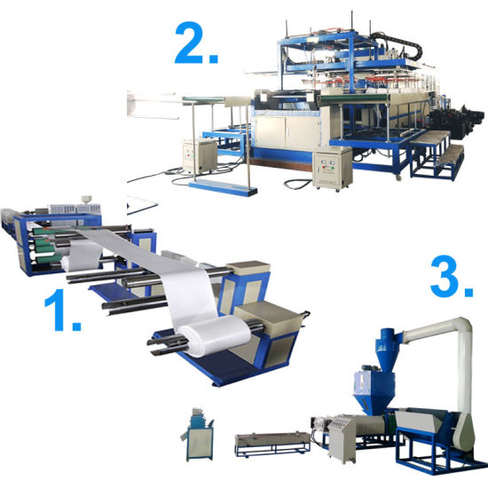 Best-Selling Disposable EPS Food Container Making Machine