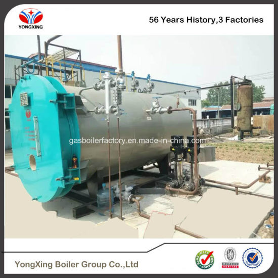 China A Grade Boiler Manufacturer Wns Oil / Gas Fired Steam Boiler ...