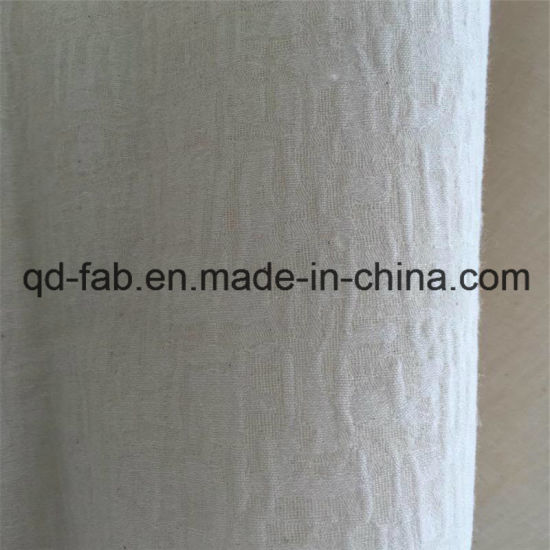 32%Linen68%Cotton Knitted Jacquard Fabric (QF16-2511) pictures & photos