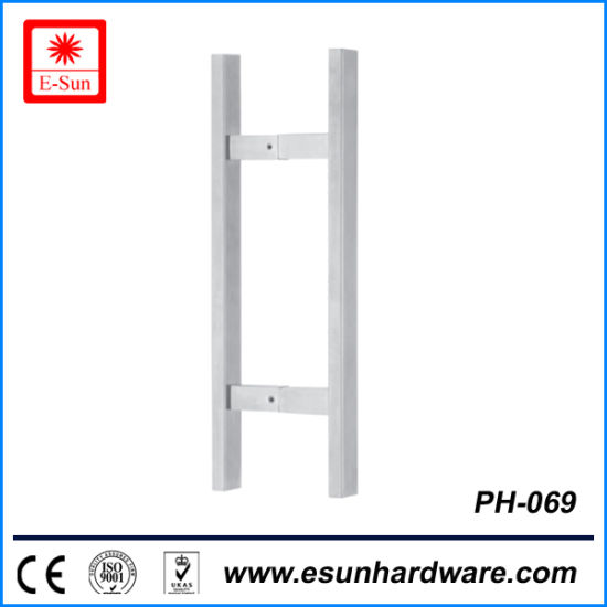 Popular Designs Stainless Steel Double Sided Door Pull Handle (pH 069)