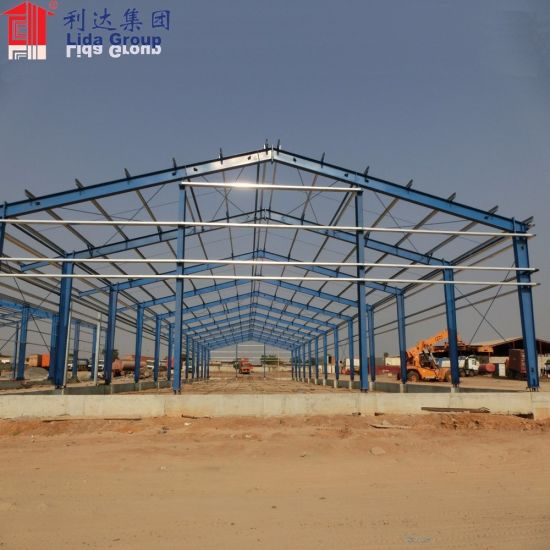 Industrial Steel Prefabricated Warehouse Storage Shed