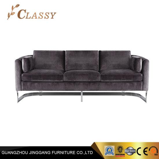 Wholesale Home Furnishings Modern Velvet Sofa Living Room Furniture