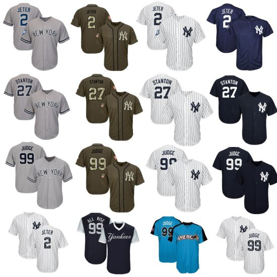 cheap for discount 7bbef b0f1a China Men Women Youth Yankees Jerseys 2 Derek Jeter Baseball ...