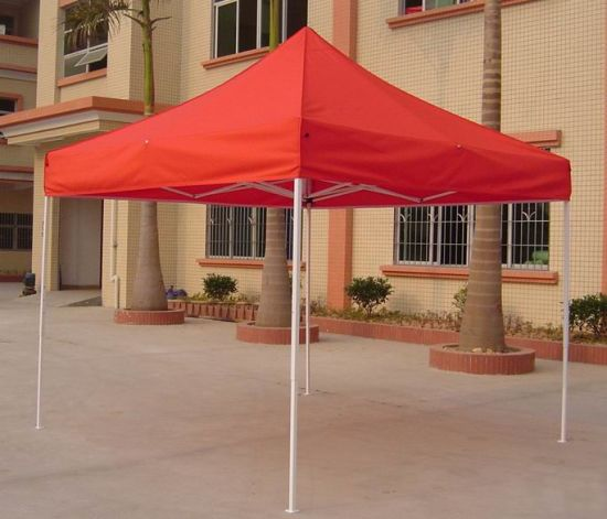 Cheap Outdoor Metal Canvas Outdoor Foldable Gazebos pictures & photos
