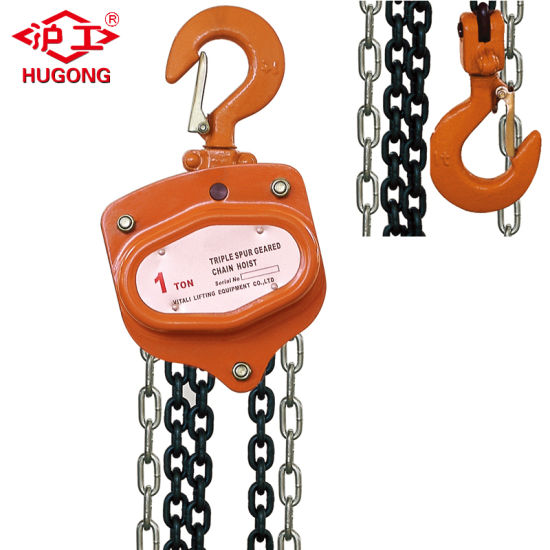Hand Lifting Machine, Manual Chain Hoist 4t 3m pictures & photos