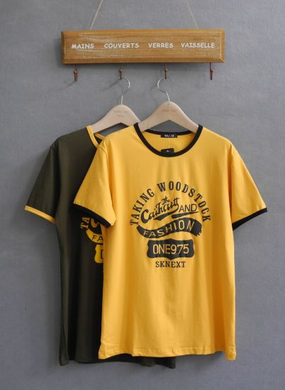 4992bec0 China Stocklot Cheap T-Shirts with Different Designs Stock Apparel ...