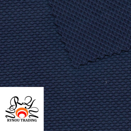 Nylon Spandex Jacquard Grid Blended Knitting Fabric