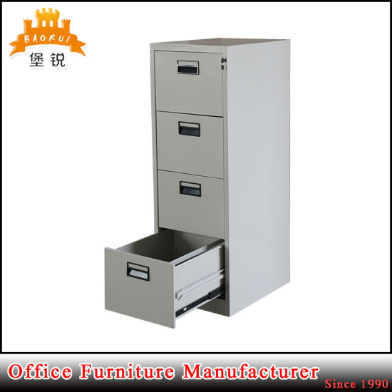 Jas 002 4D Steel Office Hanging File Cabinet /Office Metal 4 Drawer File  Cabinet