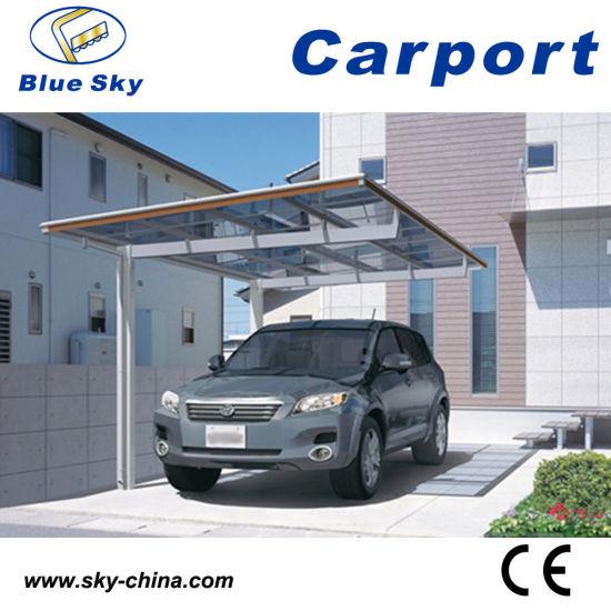 China Snow Shelter Aluminum Carport with Tonon Roof (B800