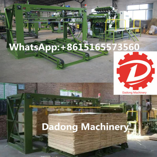 Automatic Servo Core Veneer Joining/Jointing Machine pictures & photos