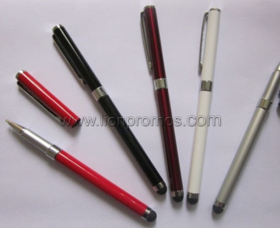 It Products Promotional Gifts Custom Logo Metal Stylus Touching Pen pictures & photos