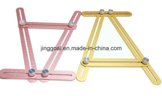 measuring all angles angle izer template tools aluminium multi angle ruler