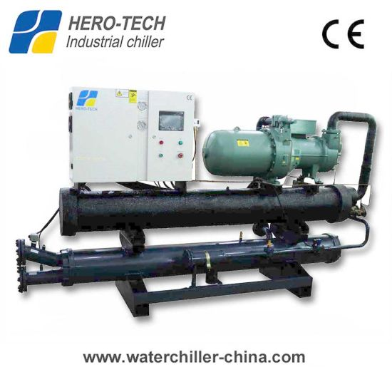 60ton Good Quality Water Cooled Screw Type Chiller