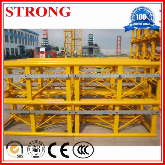 Construction Site Hoist Parts High Quality Standard Section pictures & photos