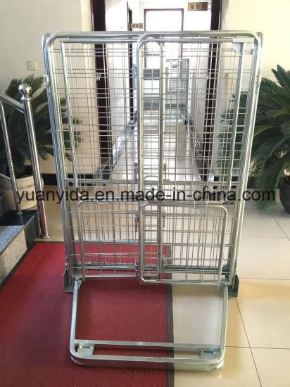 Hot Sale Zinc Plated Wire Mesh Supermarket and Warehouse Roll Pallet pictures & photos