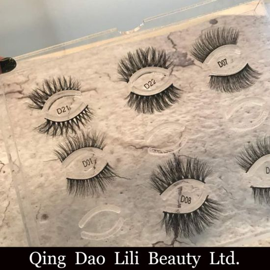 68533f311aa Wholesale Glamorous Eye Lashes Own Brand Eyelashes and Private Label 3D  Eyelashes Faux Mink Lashes pictures