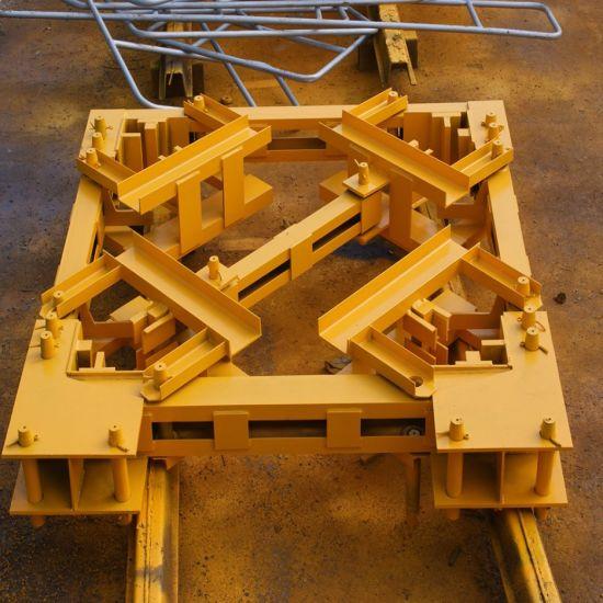 Tower Crane Spare Parts Anchorage Frame Tie Collar Wall Tie