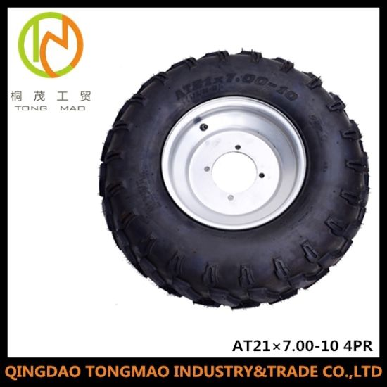 Agricultural Trailer Tyre (AT21X7.00-10 4PR Tubeless RIM) pictures & photos